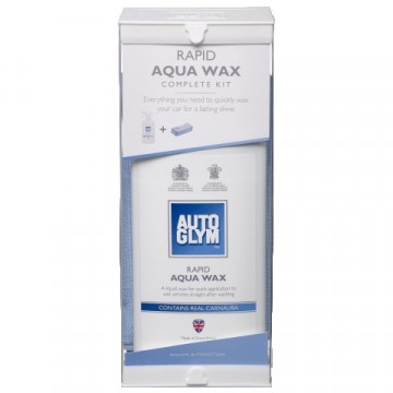 AUTOGLYM Rapid Aqua Wax Kit, 500 ml