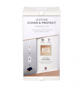 AUTOGYM Leather Clean & Protect Kit