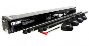 Thule Smart Rack 1270 - Komplett takstativ for rails 127cm