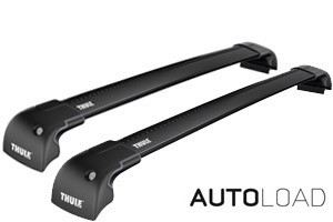 Thule Wingbar Edge Flush/Fix SORT - Komplett- Honda Civic Tourer stv 2014+