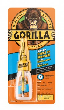 Gorilla Superlim Brush & Nozzle 12gr